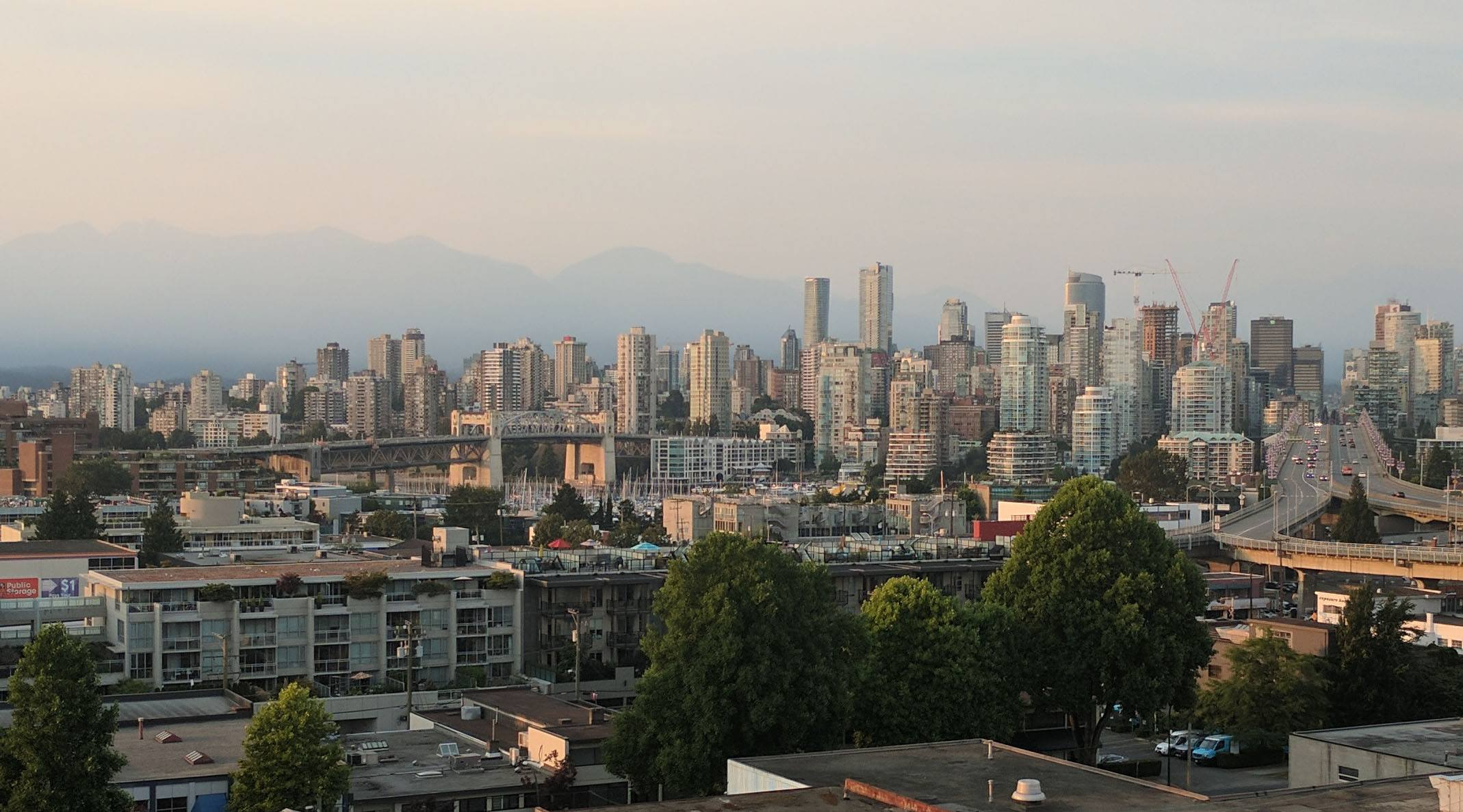BC wildfire smoke air quality advisory issued in Vancouver (PHOTOS)