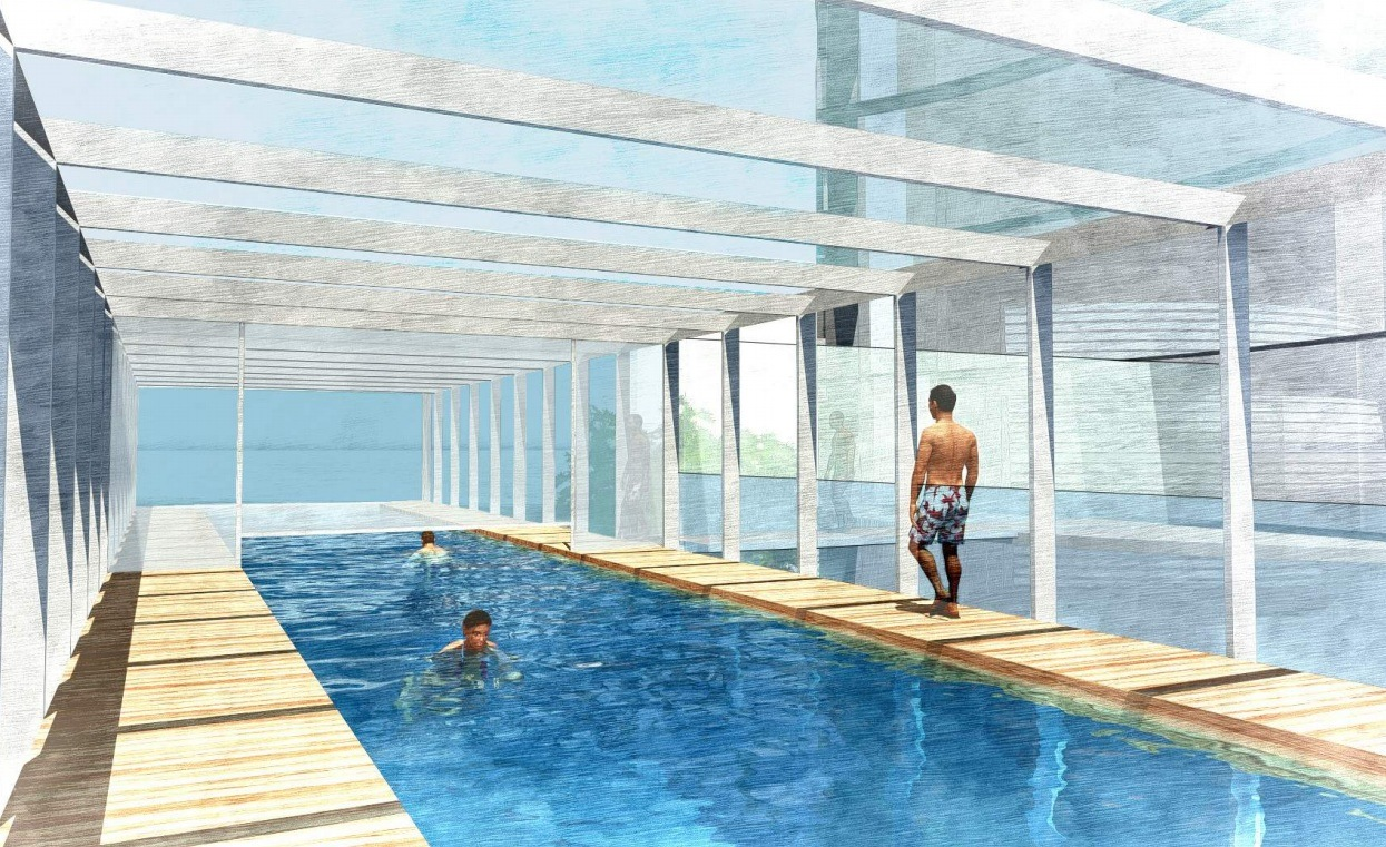 Iconic 56 storey pipe organ tower approved by vancouver city council daily hive vancouver for City of vancouver swimming pools