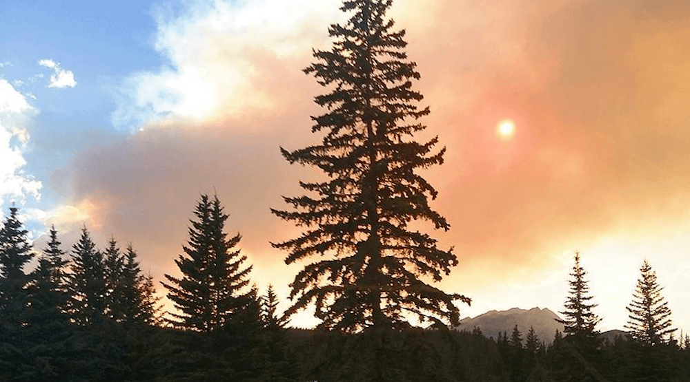 Another BC wildfire smoke air quality advisory issued in Alberta