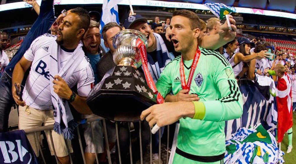 Whitecaps FC goalkeeper Paolo Tornaghi leaves the team