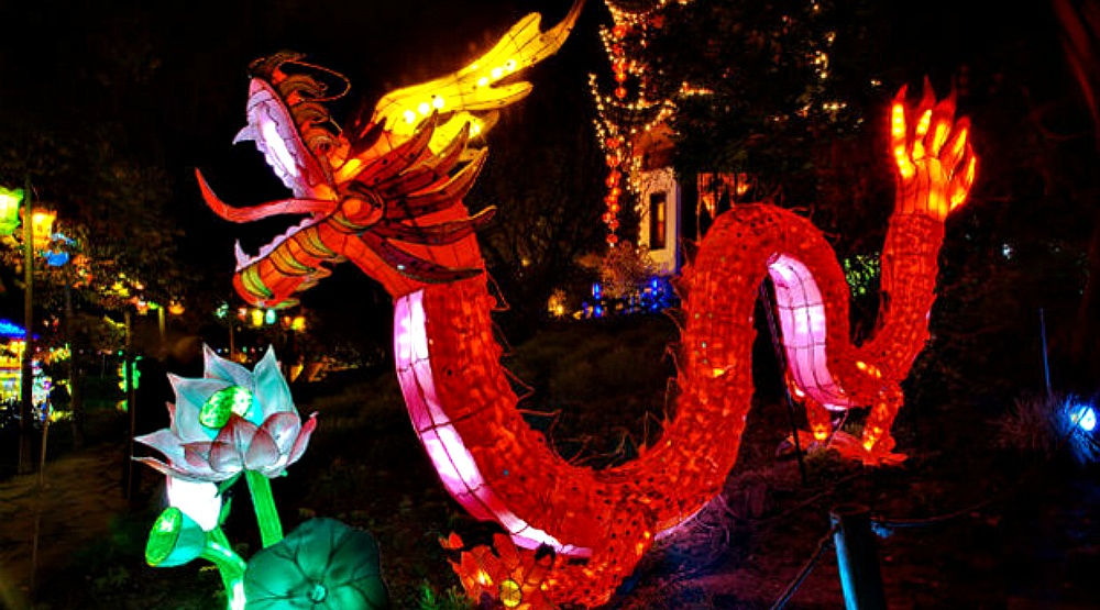An amazing garden lantern festival is coming to Montreal