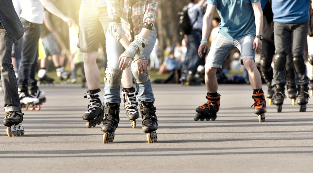 You can take part in this 24-hour roller skating event in Montreal