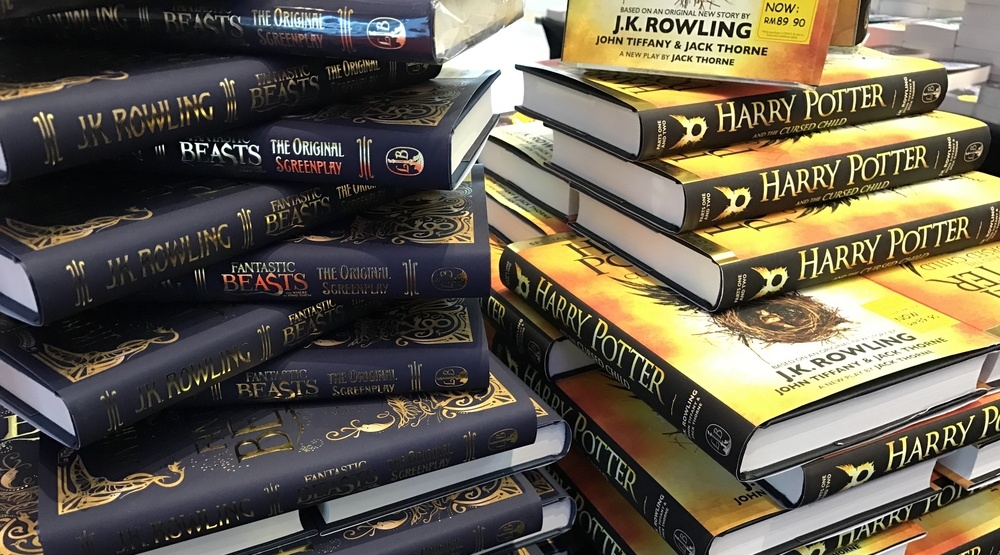 Two new Harry Potter books to be released this fall