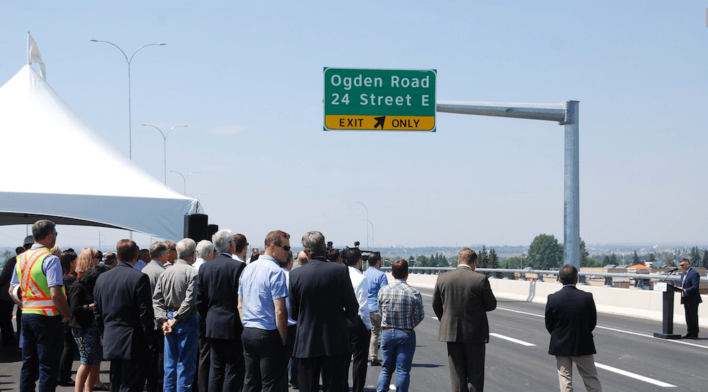 New Glenmore Trail and Ogden Road interchange now open