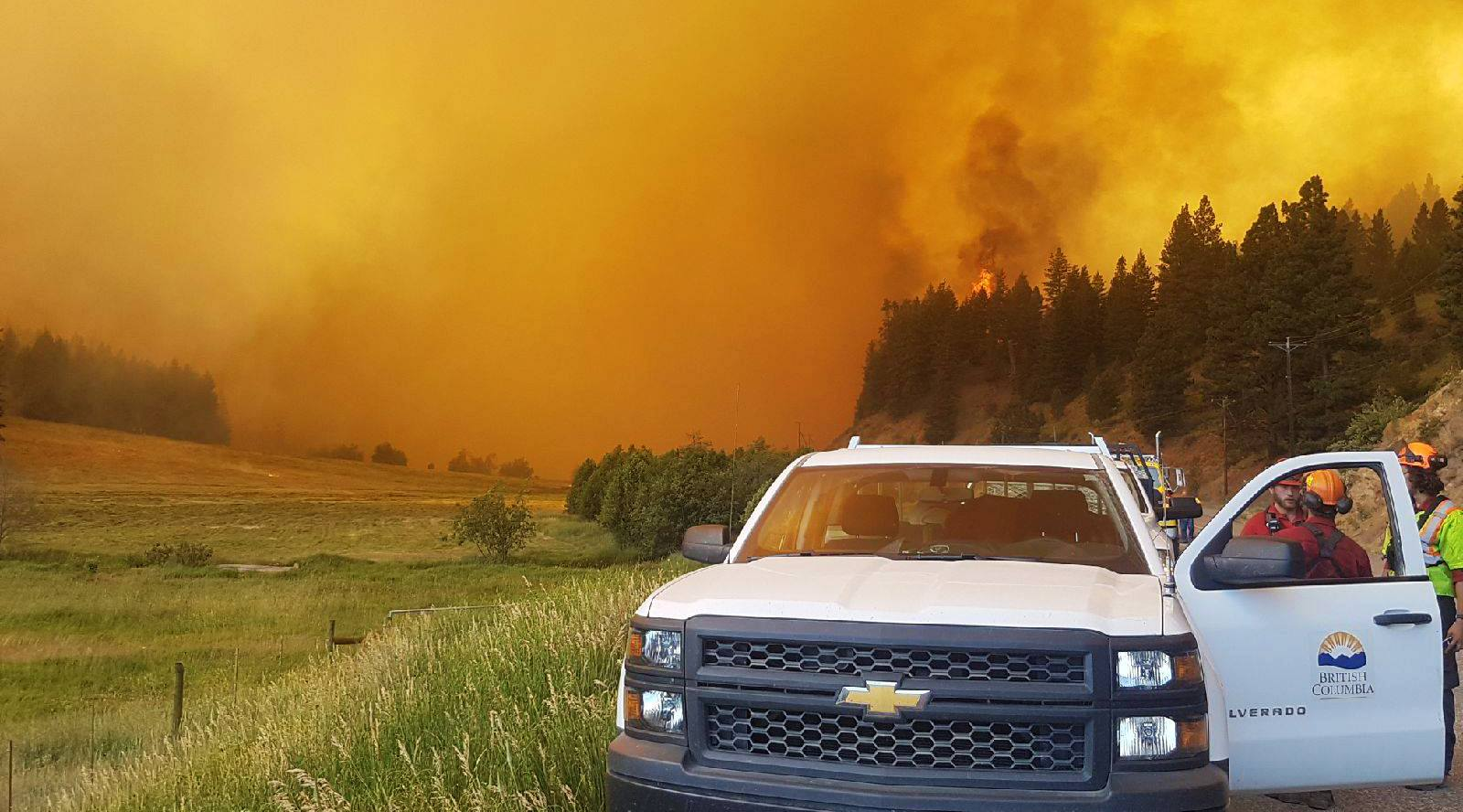 BC wildfires top priority for new BC NDP government