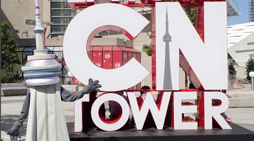 The CN Tower just unveiled its new mascot