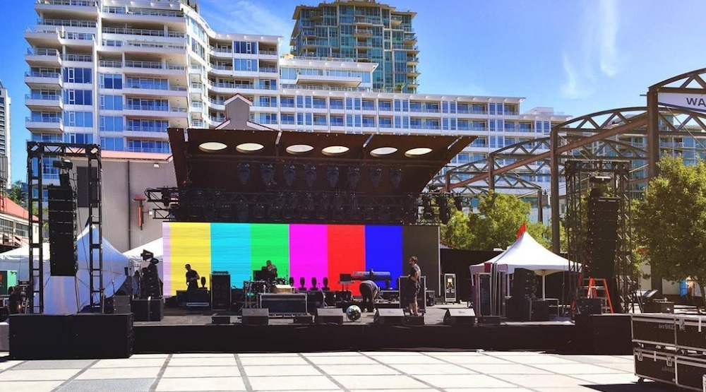 Kelly Clarkson performing outdoor concert in North Vancouver tonight