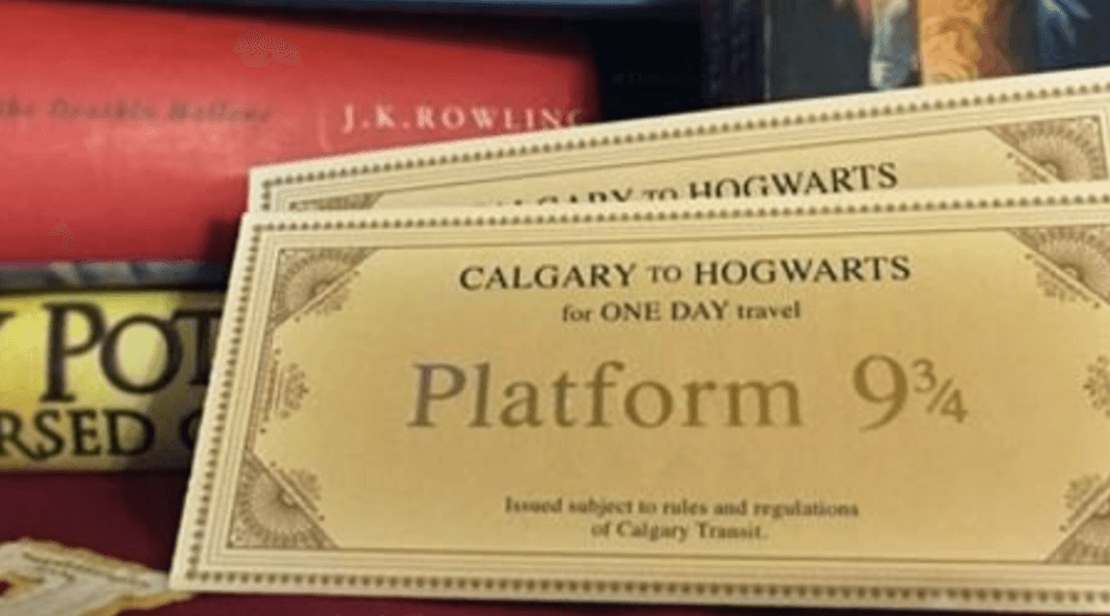 You can get limited edition Harry Potter transit passes for Diagon Alley at Kensington