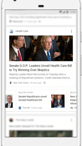 Google Feed will include more news sources (Google)