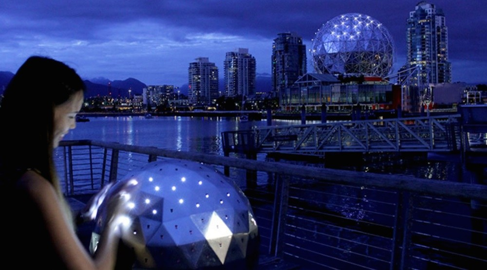 You can now use this orb to change the lights at Science World (PHOTOS, VIDEO)