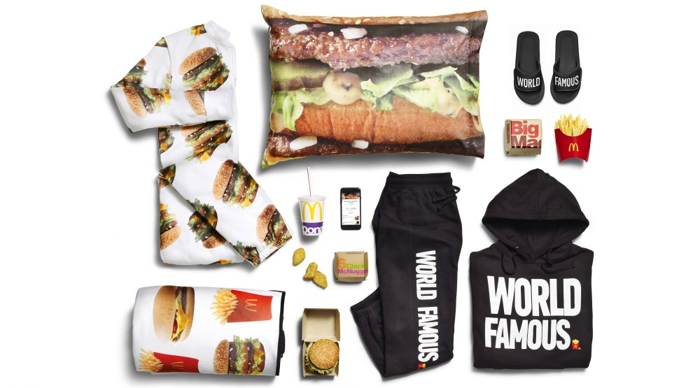 McDonald's just launched a clothing collection (PHOTOS)