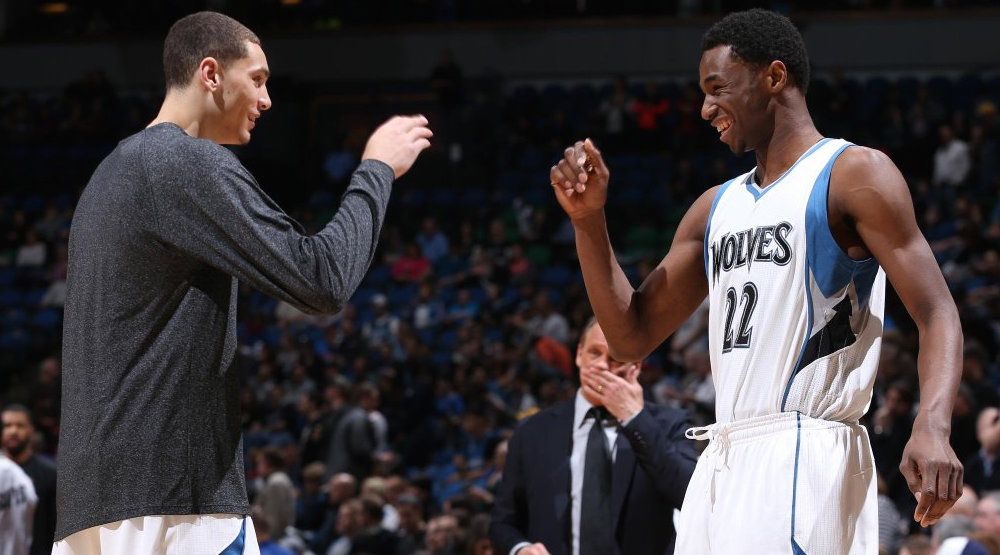 Andrew wiggins timberwolves