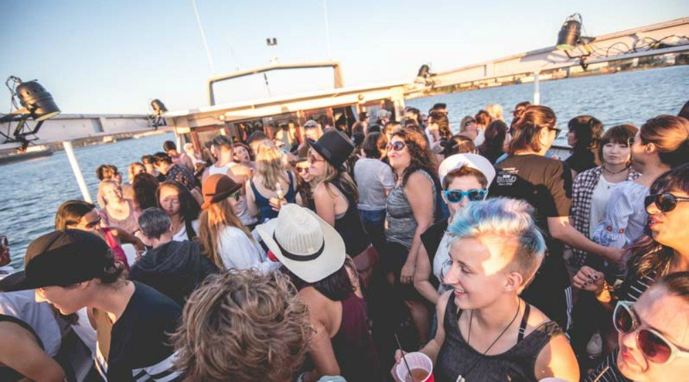 There's going to be a massive Pride boat party next month