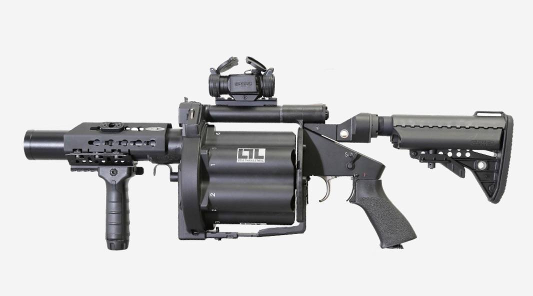 Good news, the RCMP have got their grenade launcher back