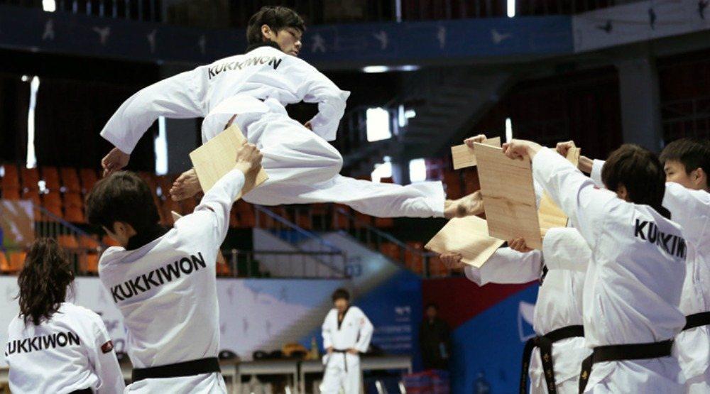 Eat Korean food and watch the Kukkiwon Taekwondo team at the free KCHS Festival