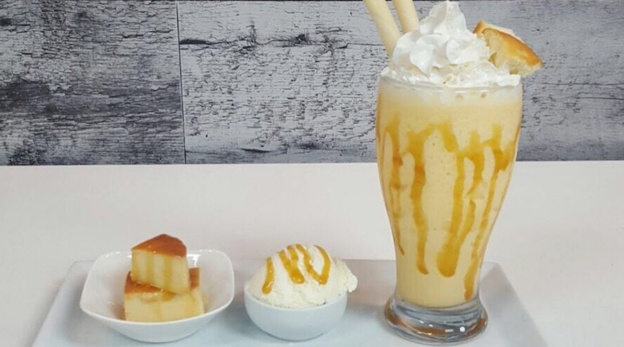 Cheese ice cream, monster shakes, and more treats you'll flip for at this new dessert cafe
