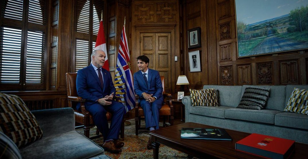 Trudeau to visit BC wildfire evacuees after meeting with John Horgan