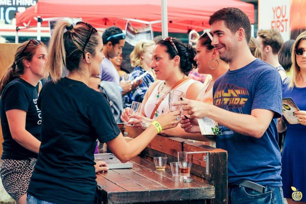 Toronto Cider Festival food event