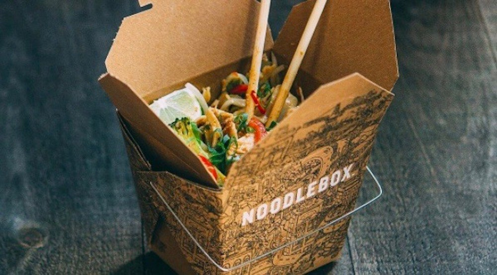 Noodlebox's second Calgary location is finally open today