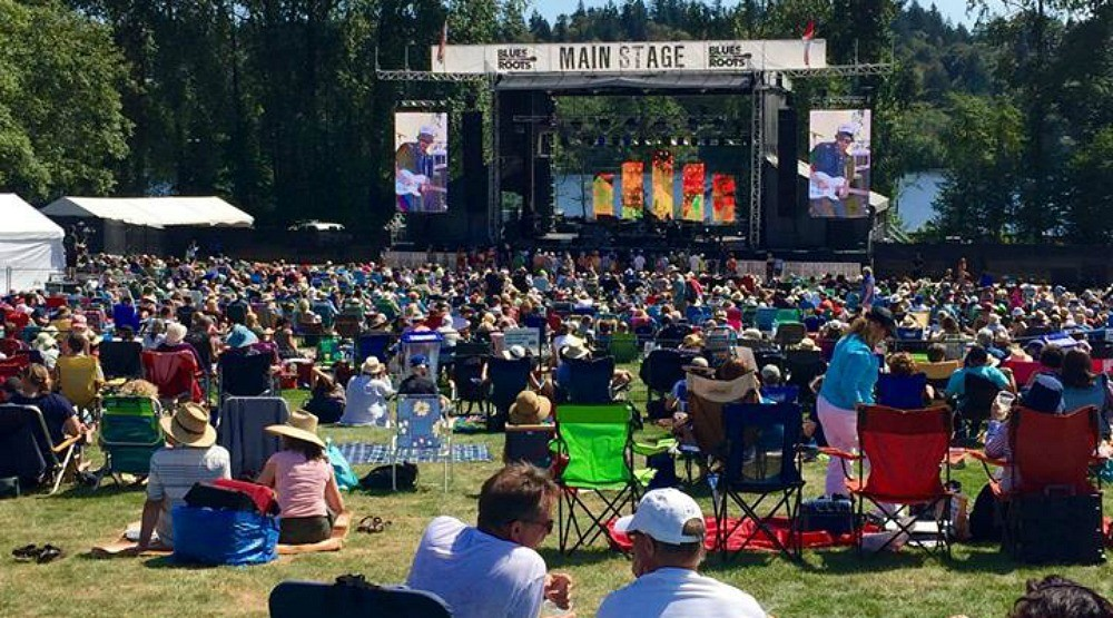 There's a Blues + Roots Festival coming to Burnaby