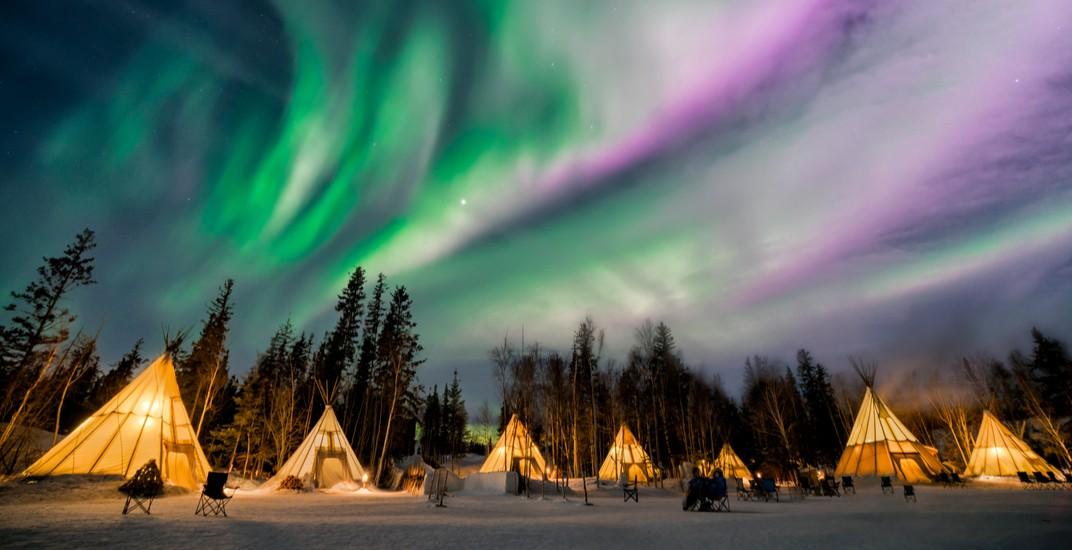 Aurora borealis in yellowknife phung chung chyang shutterstock
