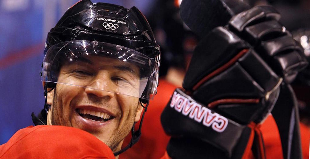 Jarome Iginla should play for Team Canada at the 2018 Olympics