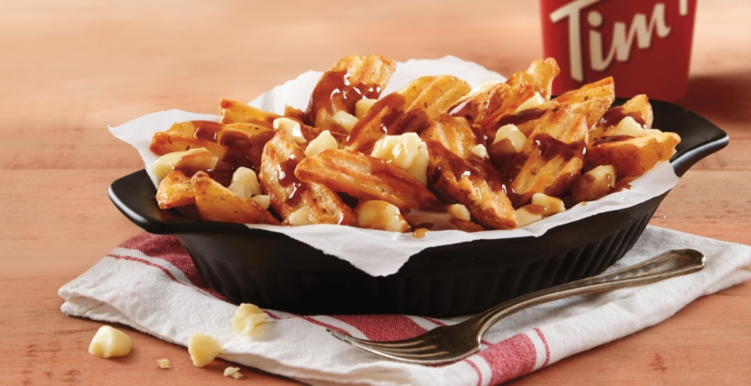 Tim Hortons now testing poutine at more than 100 Canadian restaurants
