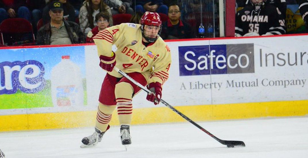 Canucks should sign 22-year-old prospect defenceman Will Butcher