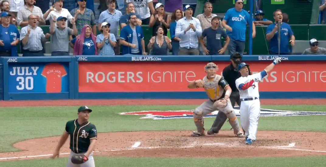 Steve pearce blue jays grand slam