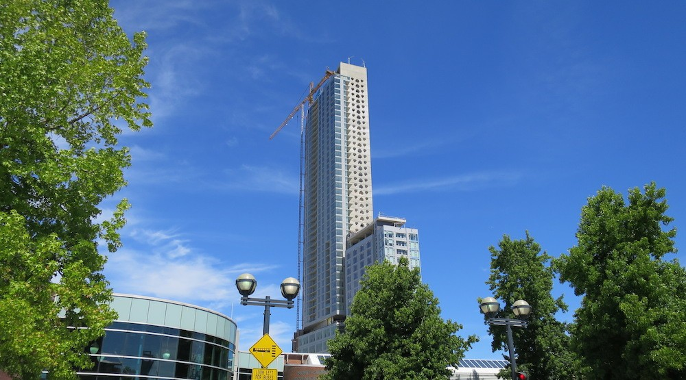 This new hotel tower is now the tallest building in Surrey (PHOTOS)