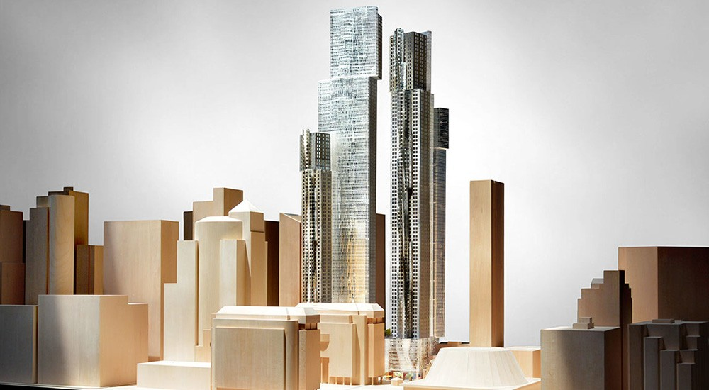 Mirvish gehry city view southeast