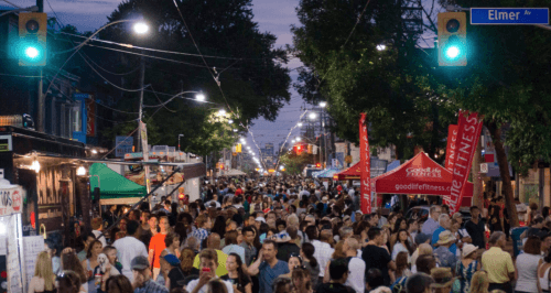 toronto road closures Beaches Jazz Festival
