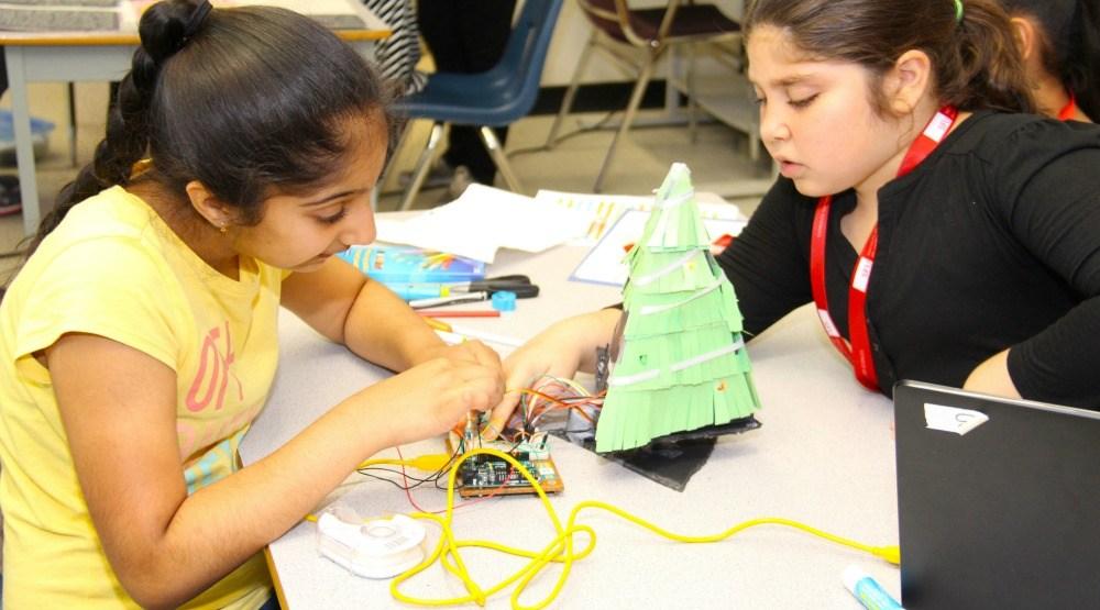 Philanthropist Shafin Diamond Tejani donates $75,000 to SFU girls tech camp