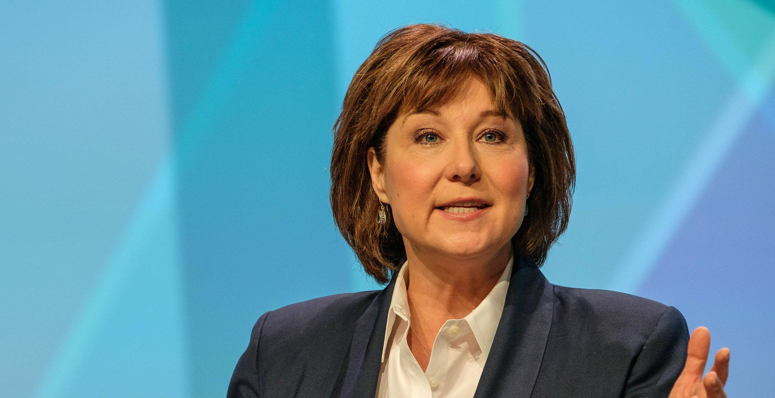 Christy Clark at the second BC Tech summit in 2017 (Province of BC)