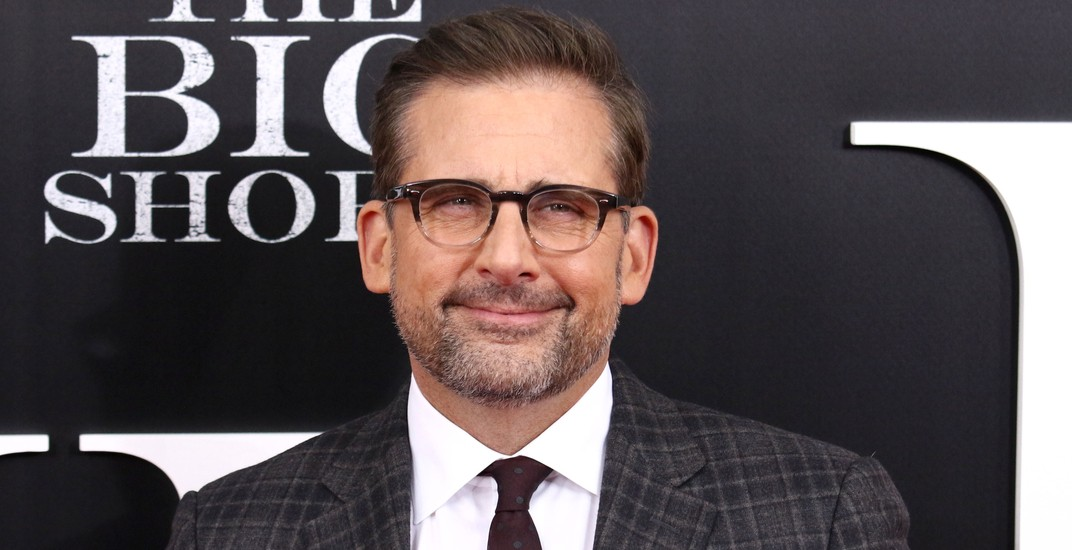 "Steve Carell attends the premiere of ""The Big Short"" at the Ziegfeld Theatre on November 23, 2015 in New York City."