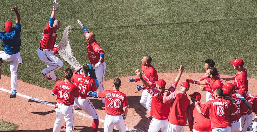 Steve Pearce hits 2nd walk-off grand slam in 4 days for Blue Jays (VIDEO)