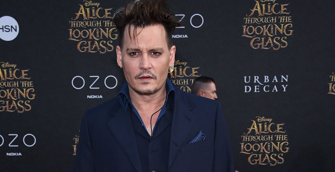 """Johnny Depp arrives to the """"Alice Through The Looking Glass"""" American Premiere on May 23, 2016 in Hollywood, CA"""