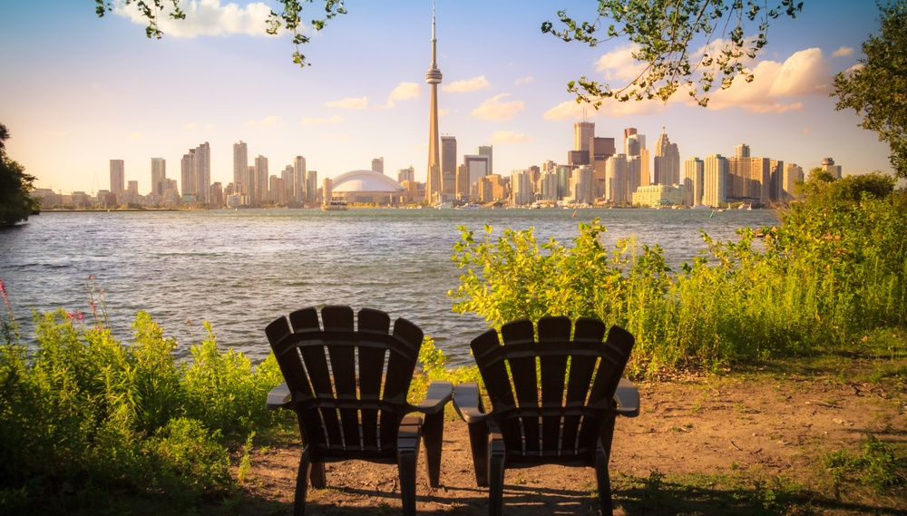 Toronto Islands airbnb