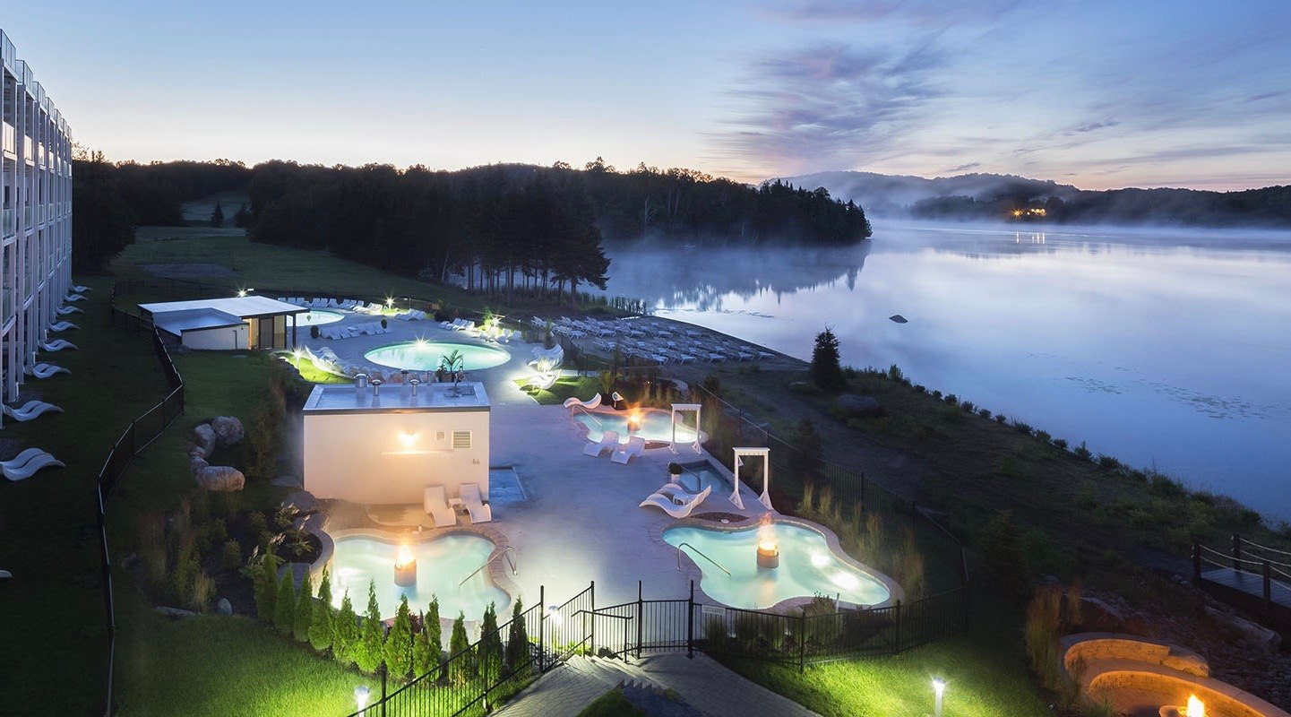 This stunning resort is just one hour from Montreal (PHOTOS)