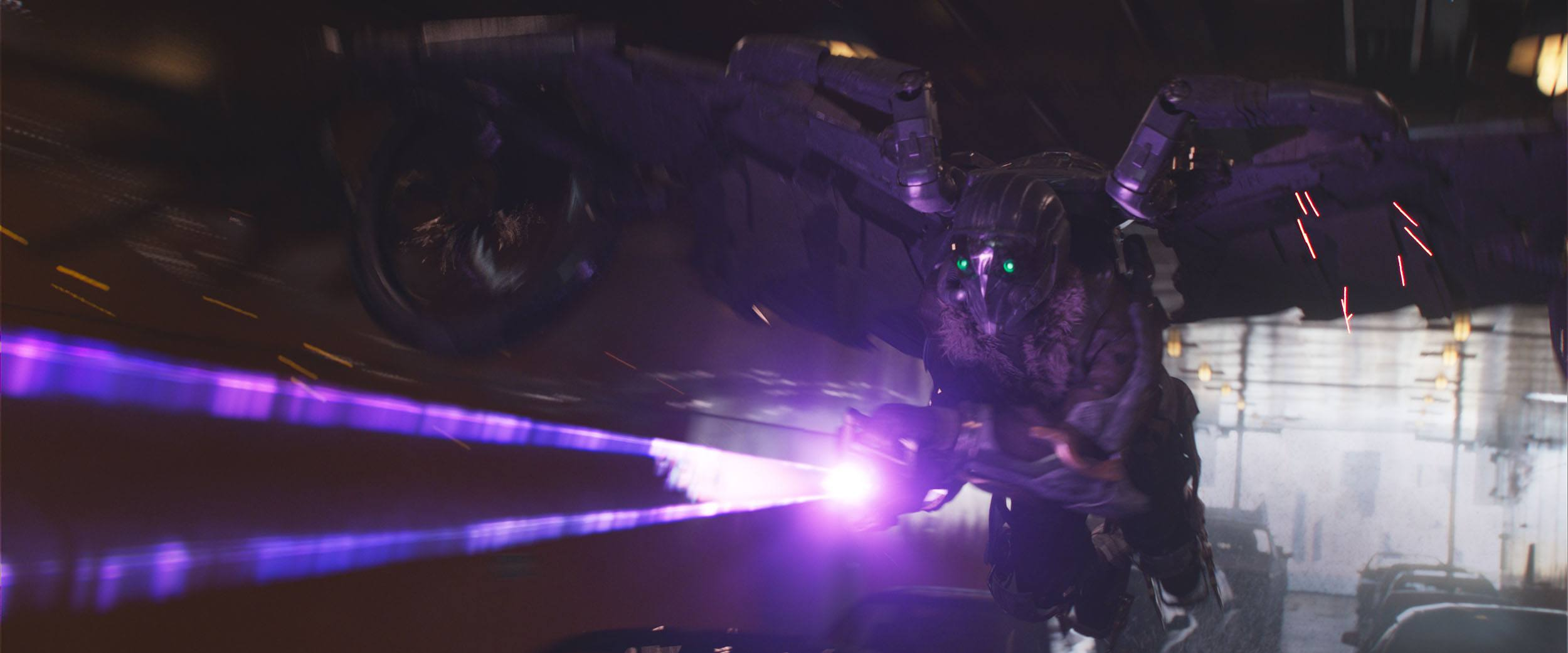 The Vulture during the Staten Island Ferry sequence in Spider-Man: Homecoming (Columbia Pictures via Digital Domain)