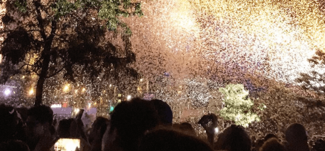 Here's why thousands of feathers fell on Montreal this weekend (PHOTOS)