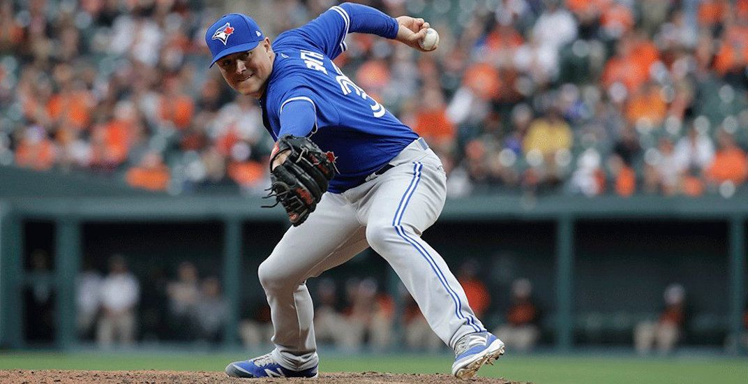 Deadline deal: Blue Jays trade Joe Smith to Cleveland for prospects