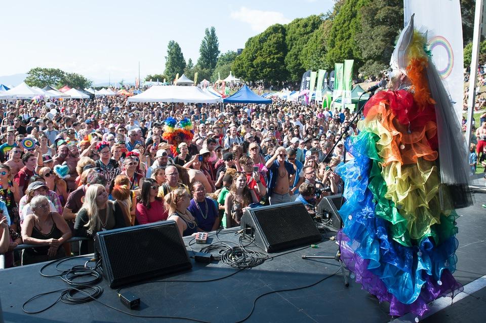 Sister Festivus Illuminata at Pride Vancouver 2016 (Mikul Culver Photography/Sister Festivus Illuminata)