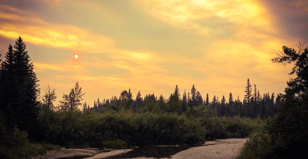 Increased smoke could be seen in Calgary as wildfire burns on (PHOTOS)