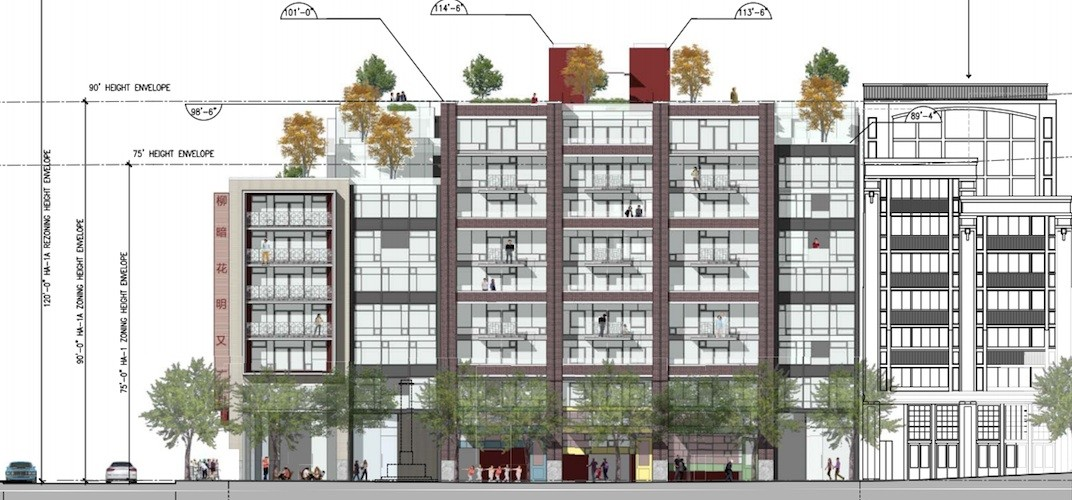 All social housing removed in redesigned Chinatown condo building proposal