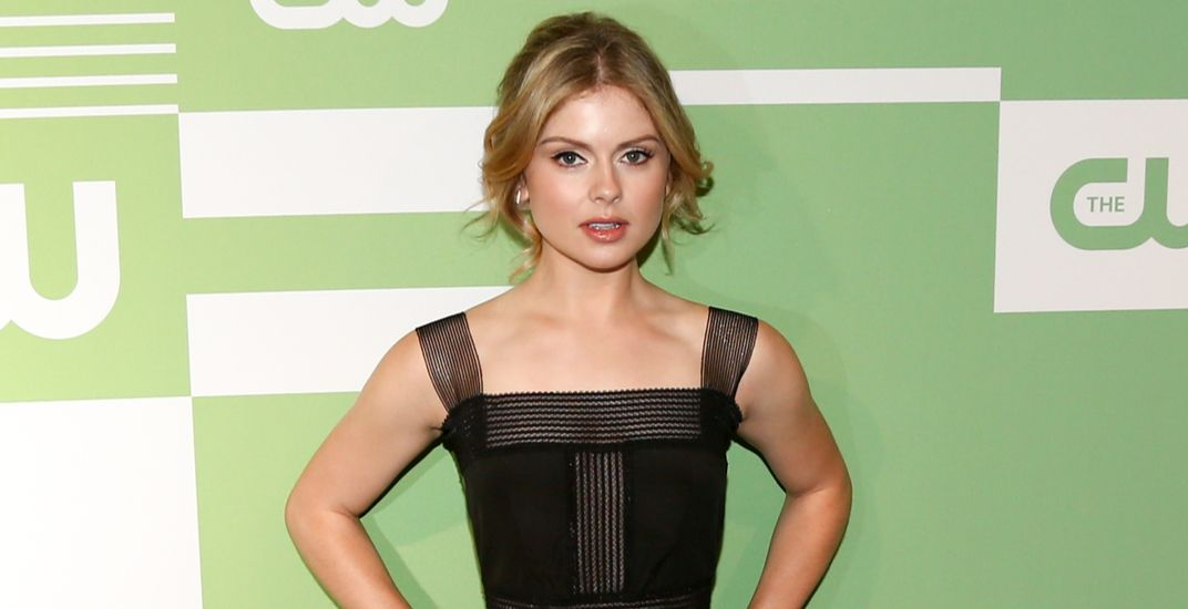 Actress Rose McIver attends the 2015 CW Network Upfront Presentation at the London Hotel on May 14, 2015 in New York City.