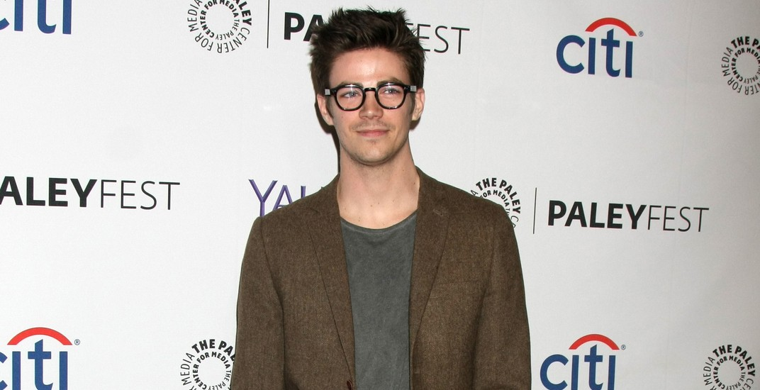 "Grant Gustin at the PaleyFEST LA 2015 - ""Arrow"" and ""The Flash"" at the Dolby Theater on March 14, 2015 in Los Angeles, CA"