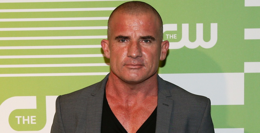 Actor Dominic Purcell attends the 2015 CW Network Upfront Presentation at the London Hotel on May 14, 2015 in New York City.