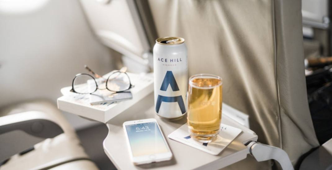 Porter Airlines now serving complimentary Ontario craft beer on flights