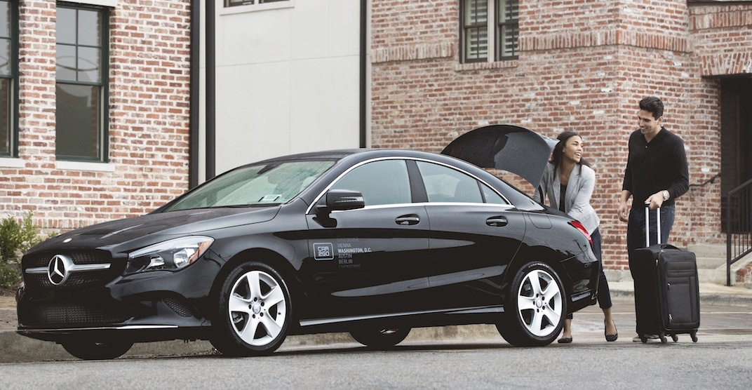 You can now drive a Mercedes-Benz while taking car2go in Calgary (PHOTOS)